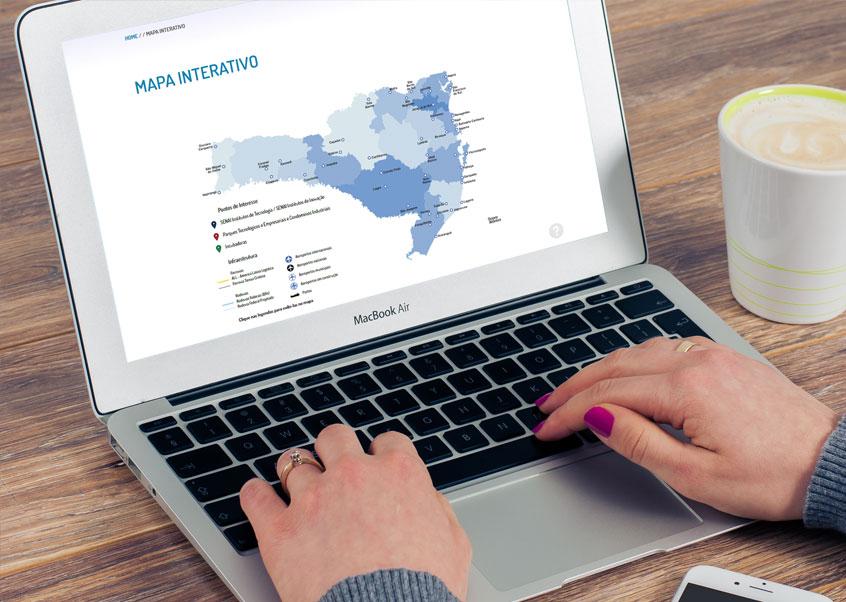 Labbo Desenvolve Mapa Interativo para FIESC com Tecnologia HTML5