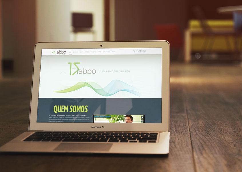 site e redes sociais da Labbo com nova cara